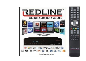 ABOUT REDLINE TS 3000 HD & T 7700 HD IPTV DECODER WITH 1 YEAR