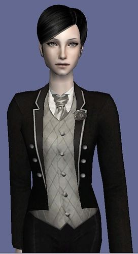 Tuxedo for ladies - The Sims 2: hexanticle