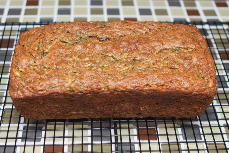 Peach zucchini bread. Great for this time of year when we have an abundance of both.