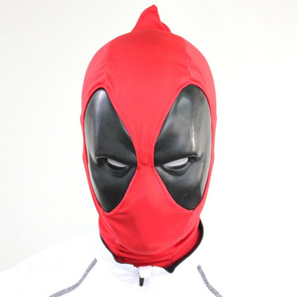 Do you have what it takes to be the Merc with the Mouth? Even if the answer is no, you can look like him with the Deadpool Mask.  Break the fourth wall, rescue the girl, kill everyone everywhere... or just look like you can do all those things with this cool mask made of black polystyrene and