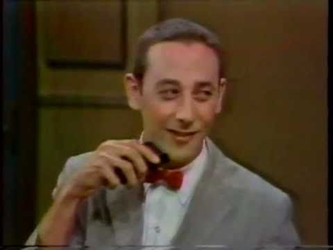 Pee-Wee Herman on NBC David Letterman Show #1 9/82~ Published on Jan 9, 2013  Good transfer of Pee-Wee Herman's first appearance on Late Night on NBC from Sept. 1982. Late night just doesn't have guests like this anymore. Enjoy!