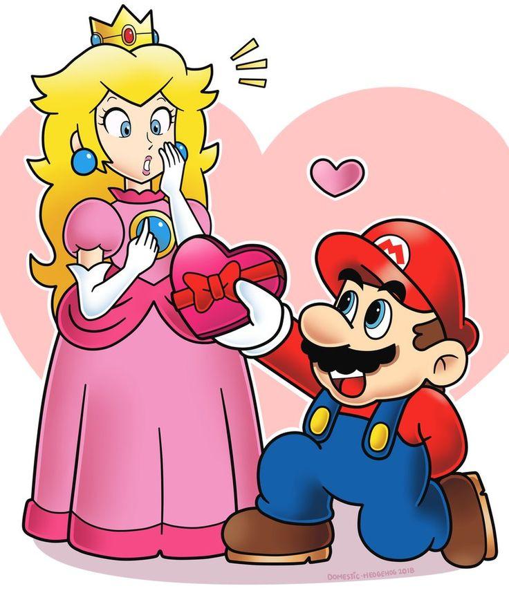 Картинки марио и его жена