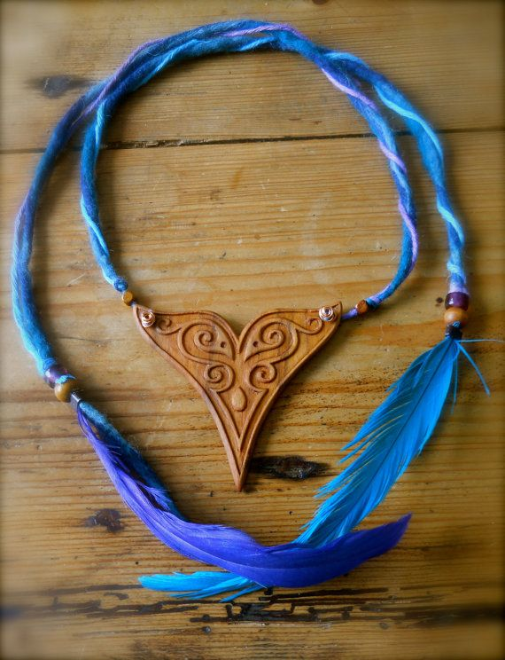 Spirit of the Celtic Sea pendant by AtelierWizArt on Etsy, €130.00