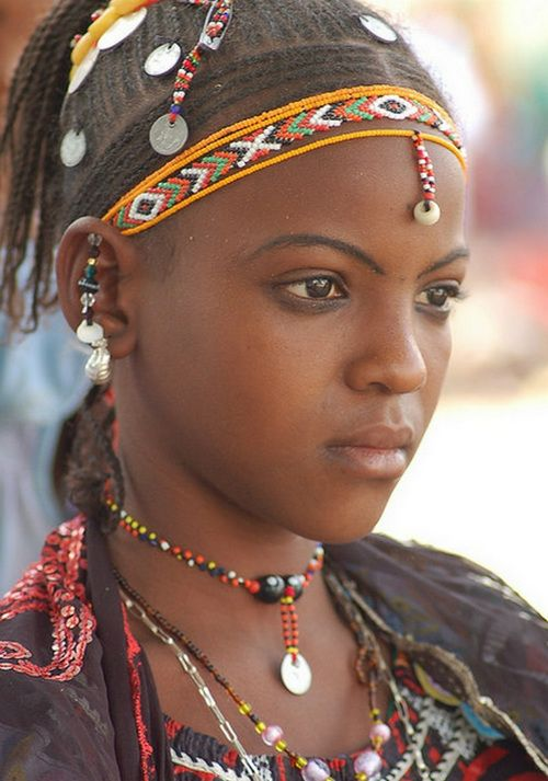 Cultures in Nigeria, Fulani Girl Nigeria #Nigerian, #Tradational, #culture