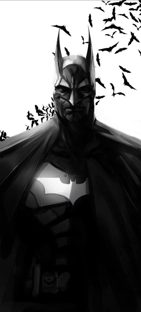 Batman Sketch by leopinheiro on @DeviantArt