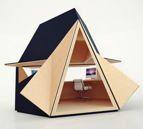 How About This For A Garden Home Office? The Tetra Shed Is