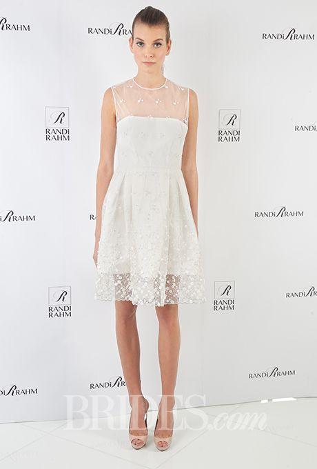 Brides: Randi Rahm Wedding Dresses   Fall 2015   Bridal Runway Shows   Brides.com | Wedding Dresses Style