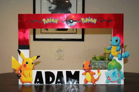 Pokemon Photo Frame Prop by Kaskarrabias on Etsy