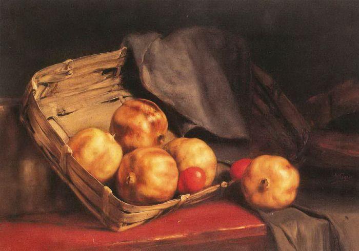 .:. Γύζης Νικόλαος – Gyzis Nikolaos [1842-1901] Ρόδια με πασχαλινά αυγά