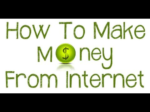 How To Earn Money On The Internet 2016 Easy To Make Money Online 10.000$...