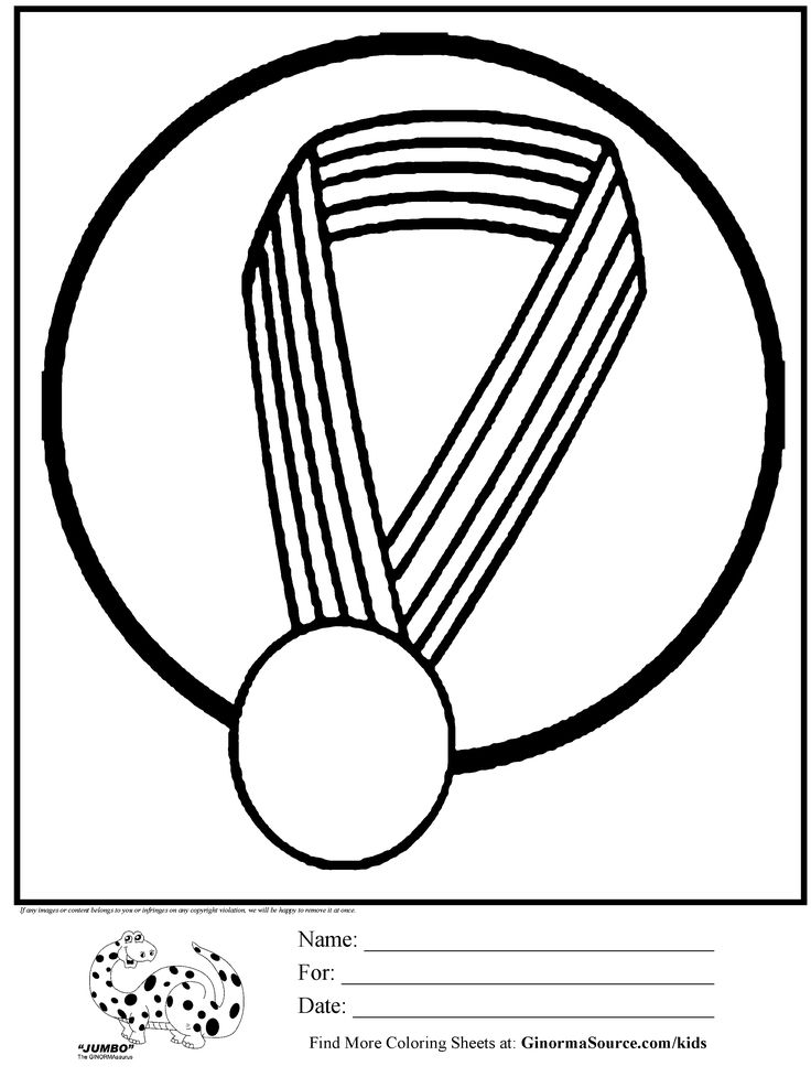 olympic coloring page gold medal | Kids Activities ...