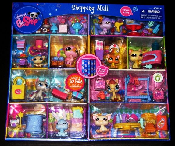 lps jumbo packs | Littlest Pet Shop Shopping Mall Play Set