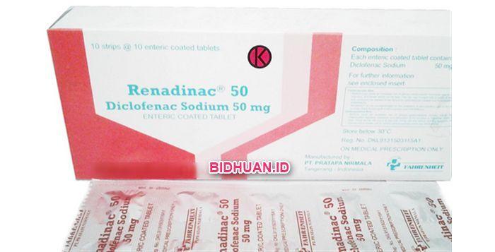 Renadinac (Diclofenac Sodium): Kegunaan, Efek Samping, Dosis dan Harga - Lihat lebih jelas http://bidhuan.id/obat/43458/renadinac-diclofenac-sodium-kegunaan-efek-samping-dosis-dan-harga/