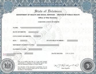 how to get a certified copy of birth certificate