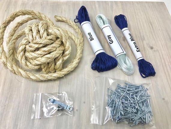 Cadena arte DIY Kit ancla ancla cadena arte Kit de