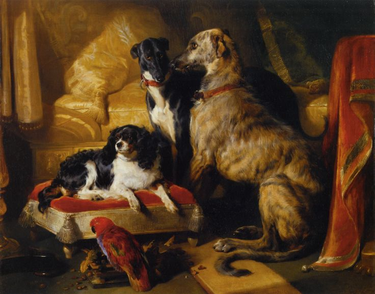 Victoria's pets? Sir Edwin Landseer, Hector, Nero and