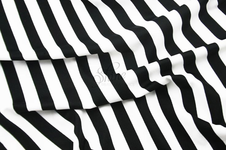 Stripe Print Stretch Spandex  $30.00 per meter