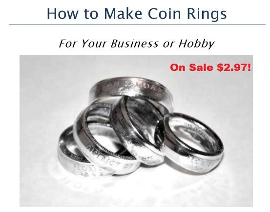 How to Make Coin Rings For Your Business or Hobby is on sale for $2.97 now!