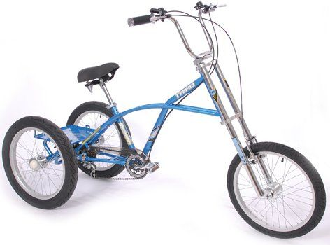 Chopper Style Adult Tricycle Harley Davidson Style