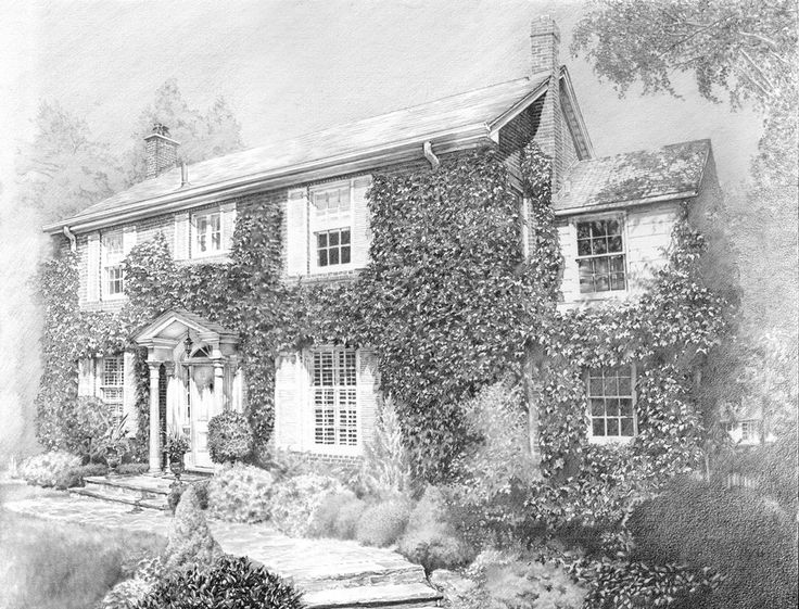 Pencil drawing by traditional art drawings landscapes