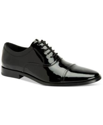 Calvin Klein Men's Nino Cap-Toe Tuxedo Shoes