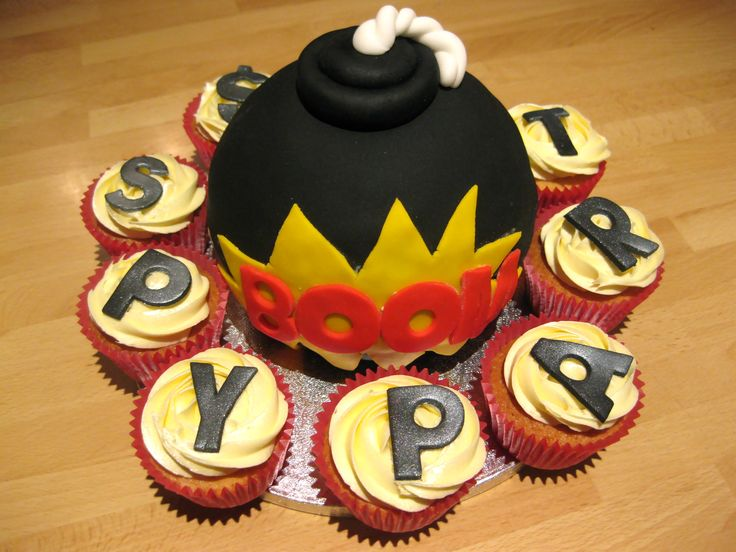 Spy Party Bomb Cake..!! how to create a fugative. the CIA Pentagon Obama special ops program for beginners