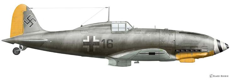 Macchi MC 202 Fhr. Emil Poidinger, Flugzeugführer Color Profile by Claes Sundin