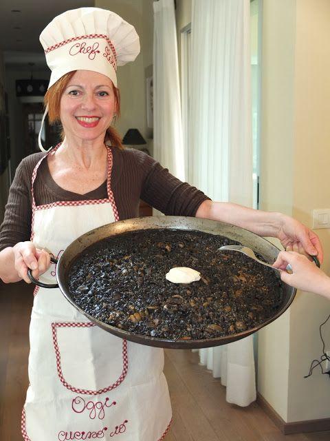 La cocina de Lola: Arroz negro / Arròs negre