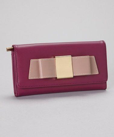 This Magenta & Light Pink Blair Wallet by Ivanka Trump is perfect! #zulilyfinds