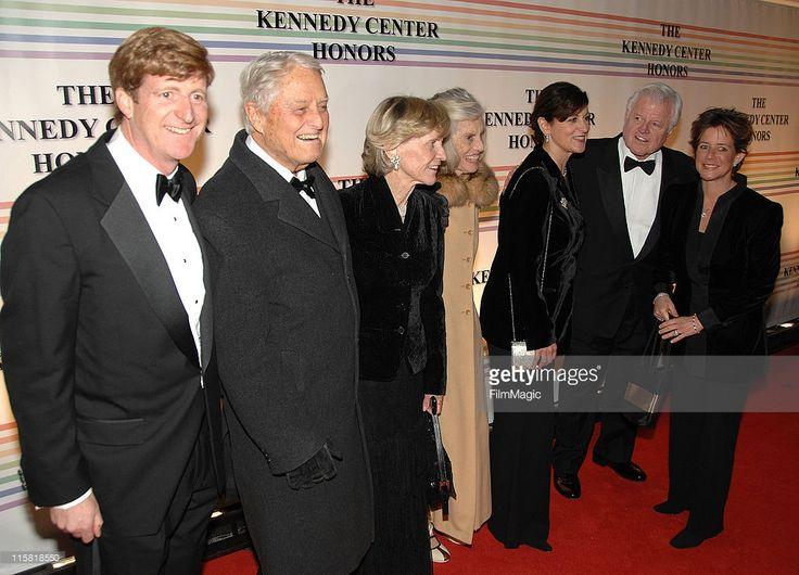 Congressman Patrick Kennedy, Sargent Shriver, Jean Kennedy Smith, Eunice Kennedy Shriver, Victoria Anne Reggie, Senator Ted Kennedy and Kathleen Kennedy Townsend