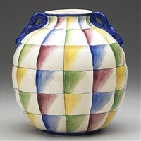 Quilted vessel par Richard Ginori and Gio Ponti