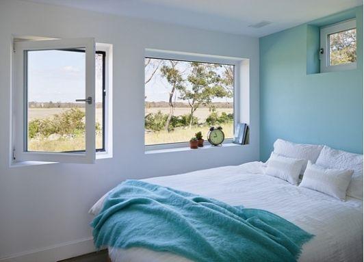 Blue bedroom design- Home and Garden Design Ideas