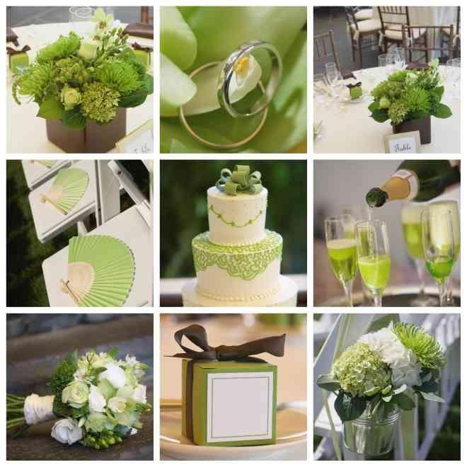 76 besten Hochzeitsthema grün-weiß Bilder auf Pinterest - deko gartenparty grun