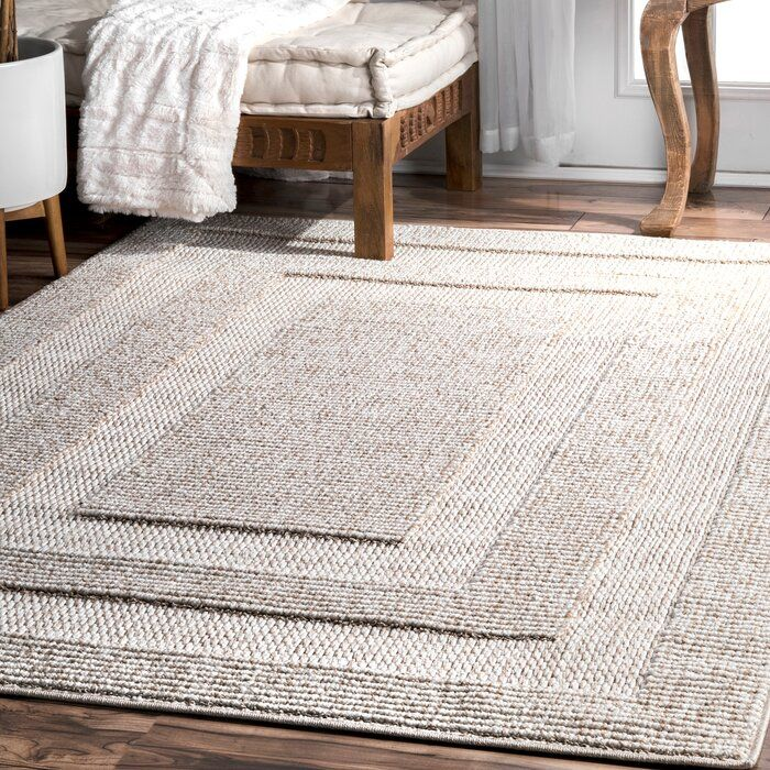 Budd Beige Area Rug In 2020 Rugs In Living Room Area Rugs Dark Brown Furniture