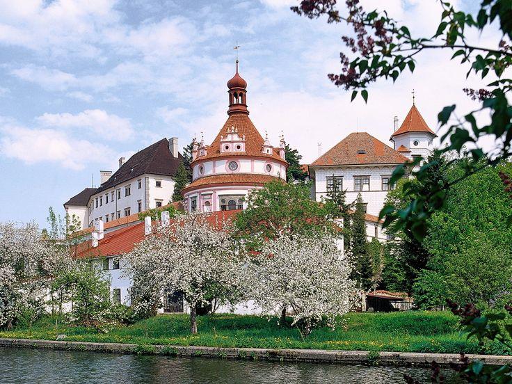 Jindrichuv Hradec Chateau South Bohemia Czech Republic