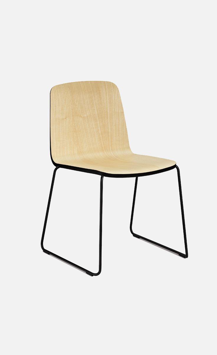 Stackable outdoor chairs lightweight peppermill interiors - Just Stacking Chair Normann Copenhagen