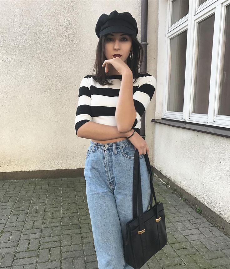 "Polubienia: 50, komentarze: 3 – The diet Kola (@thedietkola) na Instagramie: ""#newin #top from second-hand by @riverisland #jeans from sh by @levis #vintage #bag from sh #cap…"""