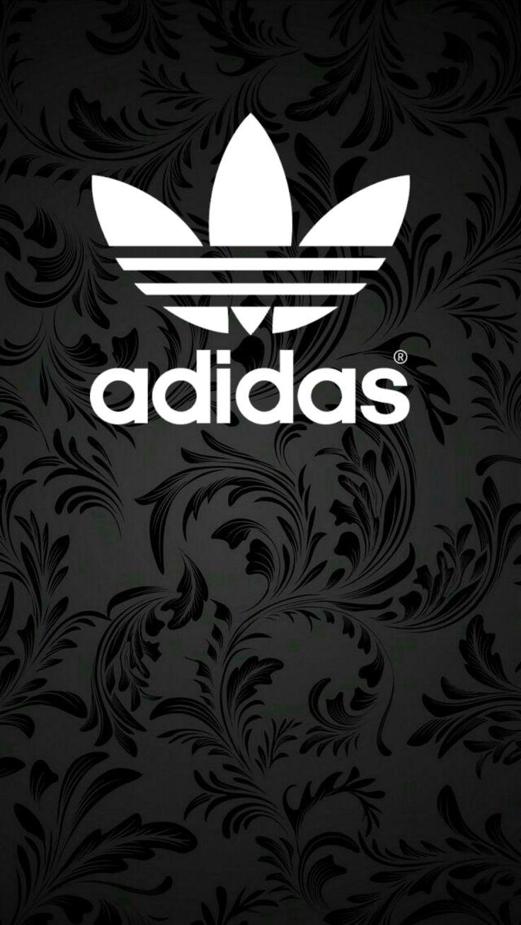 Adidas Logo White Wallpaper/Background/Screensaver