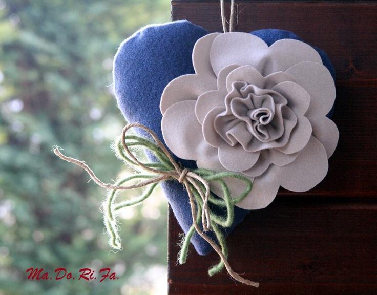 cuore in blu