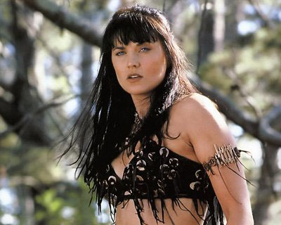 """Xena: Warrior Princess"" actress Lucy Lawless joined Greenpeace in an action  against Shell, occupying an oil-drilling ship for three days to protest plans to search for oil off Alaska."