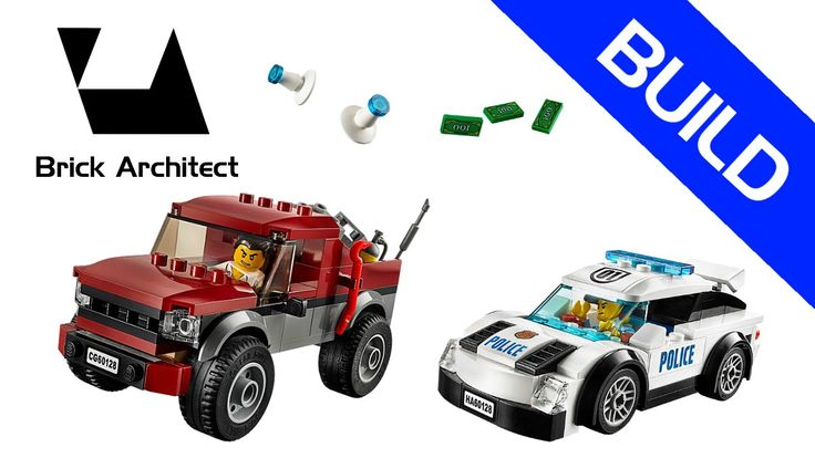 Lego City - Police - Set 60128 Police Pursuit - Step by Step Build - How...