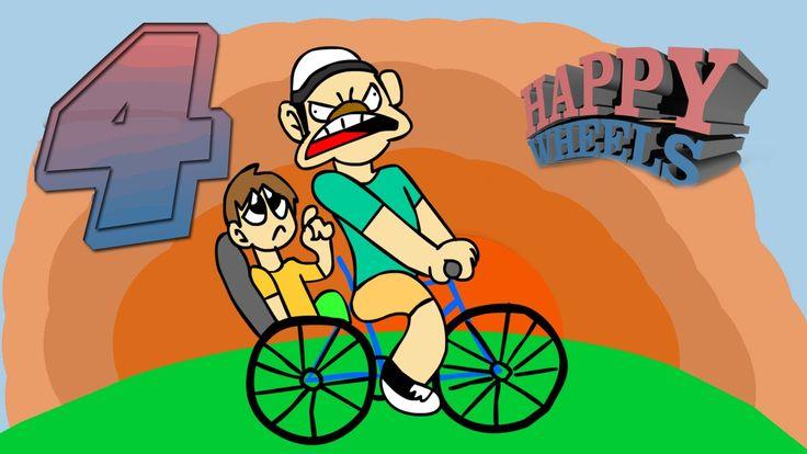 Epic Race !!-Happy Wheels[#4]