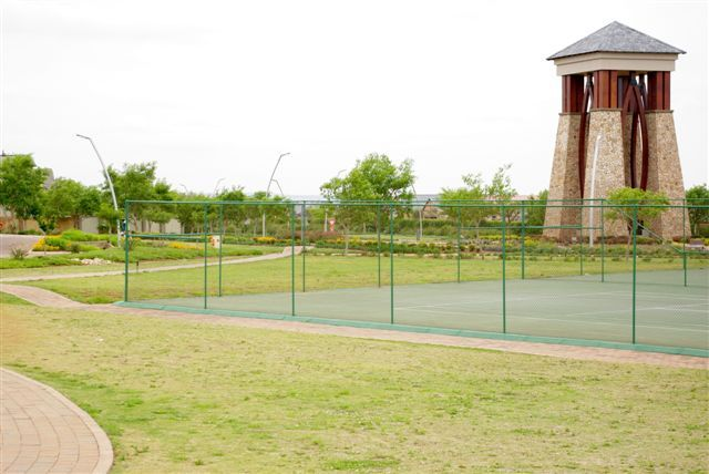 Four tennis courts are available for reservation at Midlands Estate, Midstream Estates
