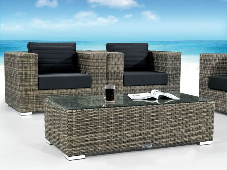 Rattan Table And Chair Set Part - 47: Outside Furniture Dubai