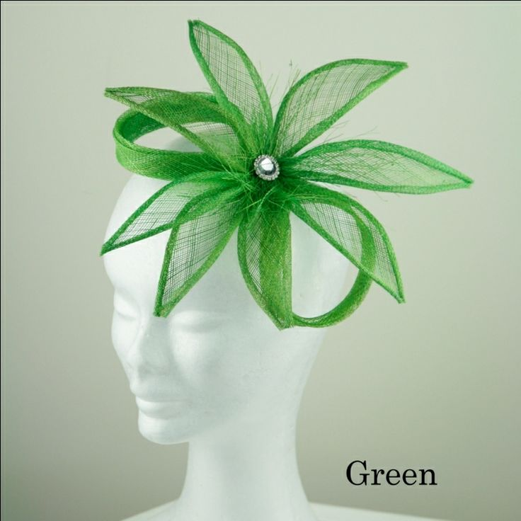 Sweet Pea Fascinators - 9 colours in this design Under $50.00 inc shipping within Australia. www.sweetpeafinery.com