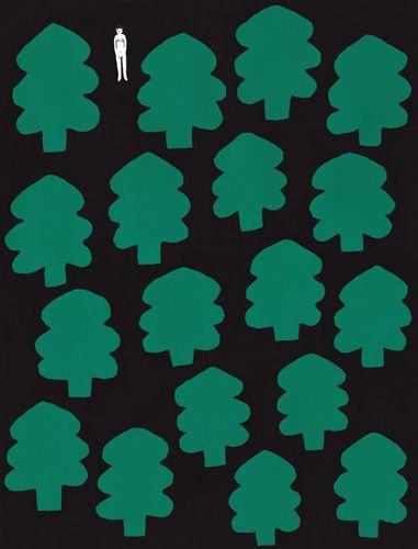 ノルウェイの森(2011.6/377*287mm)