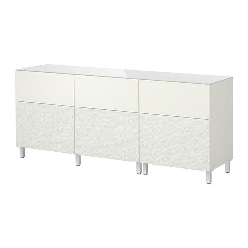 best storage combination w doors drawers laxviken white. Black Bedroom Furniture Sets. Home Design Ideas