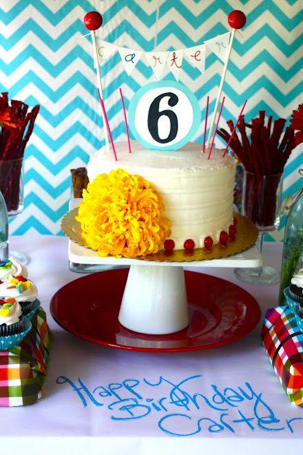 We love Carter's cake topper!