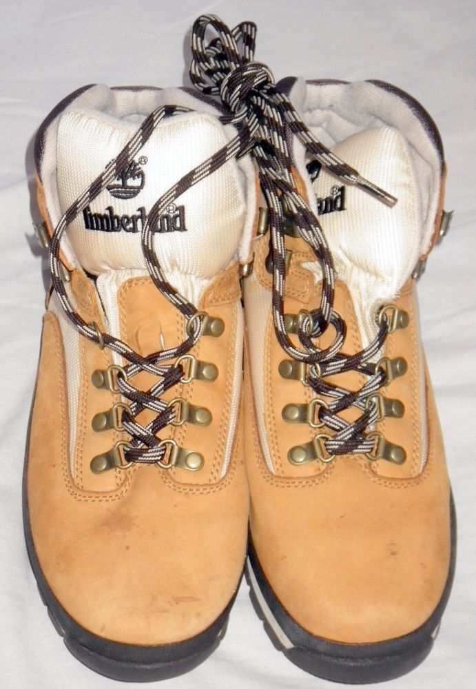 TIMBERLAND EURO HIKER WHEAT BOOTS Size10.5 W #56033 Pre-Owned, Good Condition #Timberland #HikingTrail