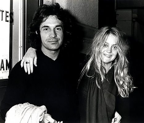 Bill Hudson and Goldie Hawn.